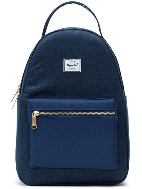 Herschel Nova Small Backpack 17L Unisex, medieval blue crosshatch/medieval blue